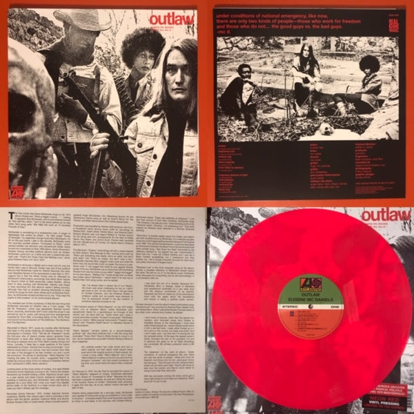 McDaniels, Eugene - Outlaw [Neon Red Vinyl] –  New LP