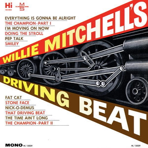 Mitchell, Willie - Driving Beat – New LP