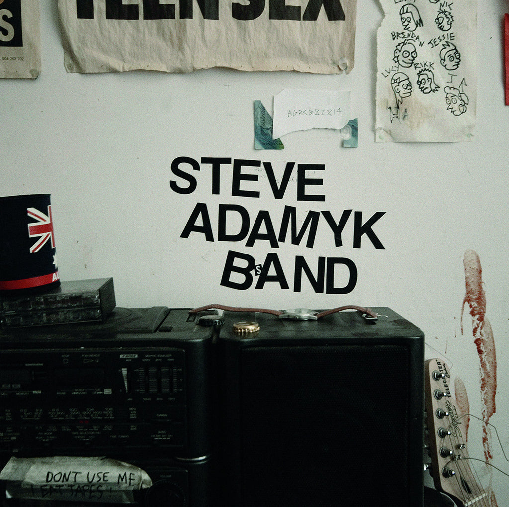 Steve Adamyk Band - Graceland BLACK VINYL LP