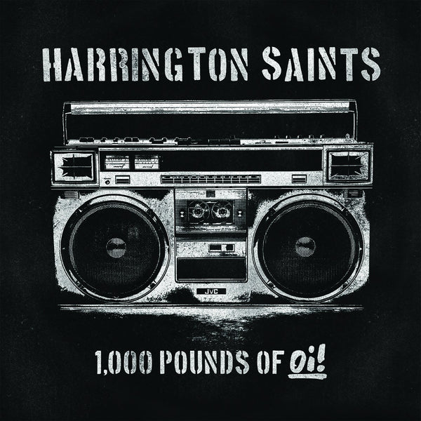 Harrington Saints - 1,000 Pounds of Oi! - New LP