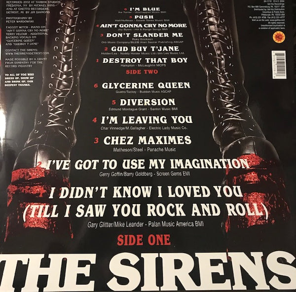Sirens, The – S/T – New LP