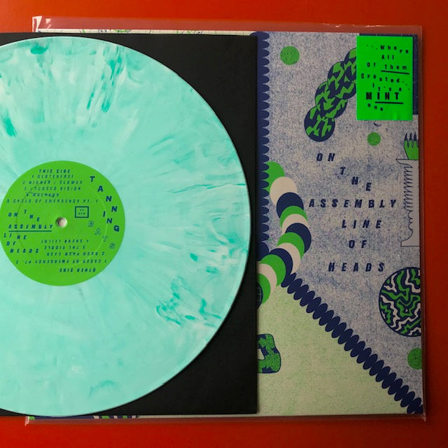 Tanning Bats - On the Assembly Line Of Heads (IMPORT GREEN-MINT vinyl Green Noise USA Exclusive) - New LP