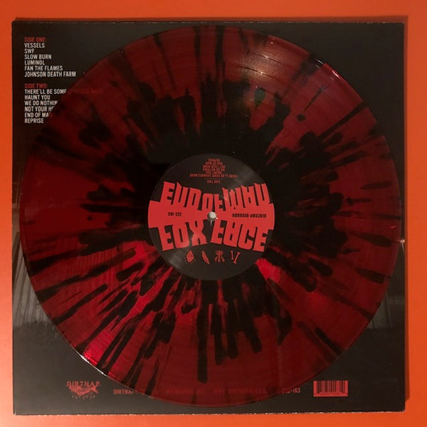 Fox Face - End of Man [GREEN NOISE EXCLUSIVE RED/BLACK SWIRLED VINYL] – New Vinyl