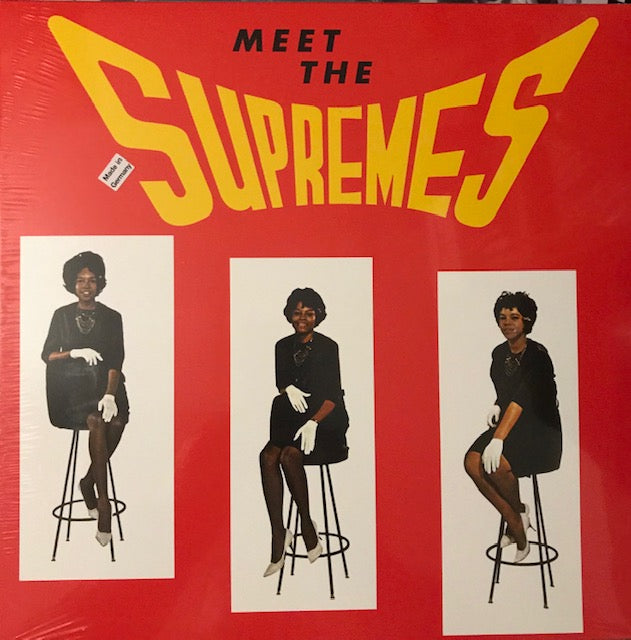 Supremes, The – Meet the Supremes – New LP