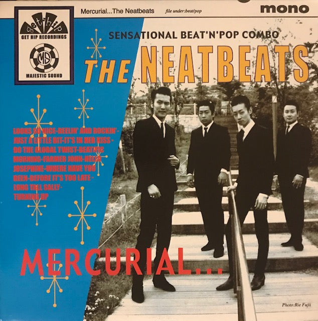 Neatbeats – Mercurial [BLUE VINYL JAPAN GARAGE BEAT] – New LP
