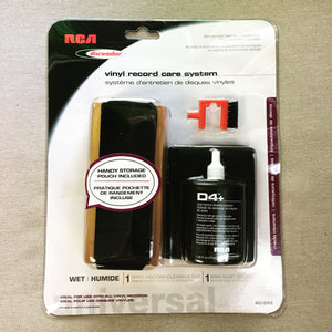 RCA Discwasher Vinyl Record Care System