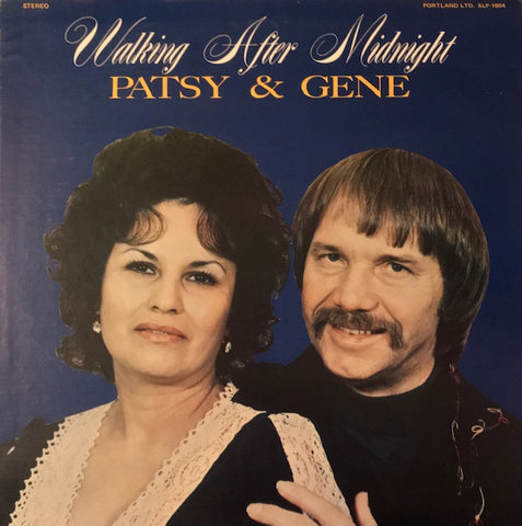 Patsy & Gene [Pullen] - Walking After Midnight - Used LP