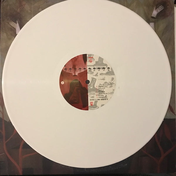 Hot Water Music - A Flight and a Crash [White Vinyl]  - Used LP