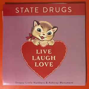 "State Drugs – Live. Laugh. Love. [GREEN NOISE EXCLUSIVE ""KITTY"" SLEEVE EDITION]  – New LP"