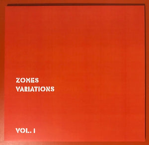 Zomes ‎– Variations Vol. 1 – New LP