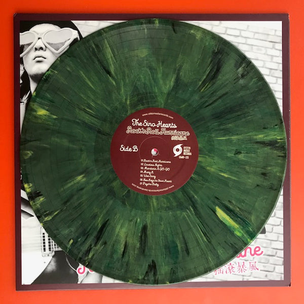 Sino Hearts, the - Rock 'n Roll Hurricane  [PREORDER.  MARBLED GREEN VINYL: LIMITED GREEN NOISE EXCLUSIVE COLOR; PUNK ROCK from CHINA!!!] –  New LP