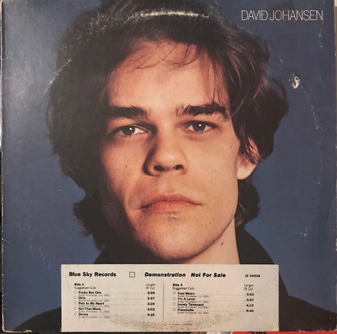 David Johansen ‎– S/T – Used LP