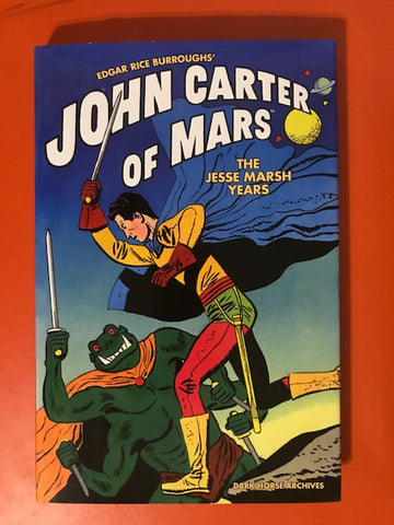 Marsh, Jesse – Edgar Rice Burroughs' John Carter of Mars – Used Book