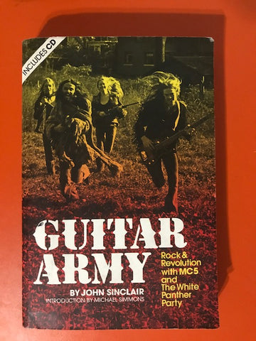 Sinclair, John – Guitar Army – Used Book