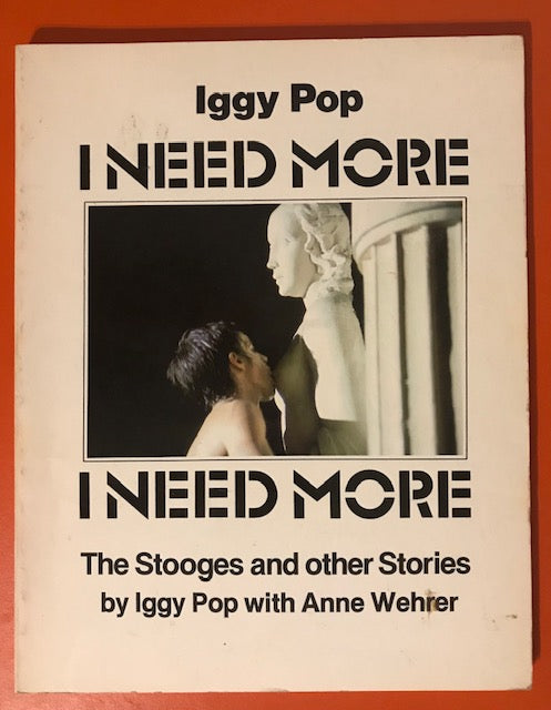 Pop, Iggy – I Want More – Used Book