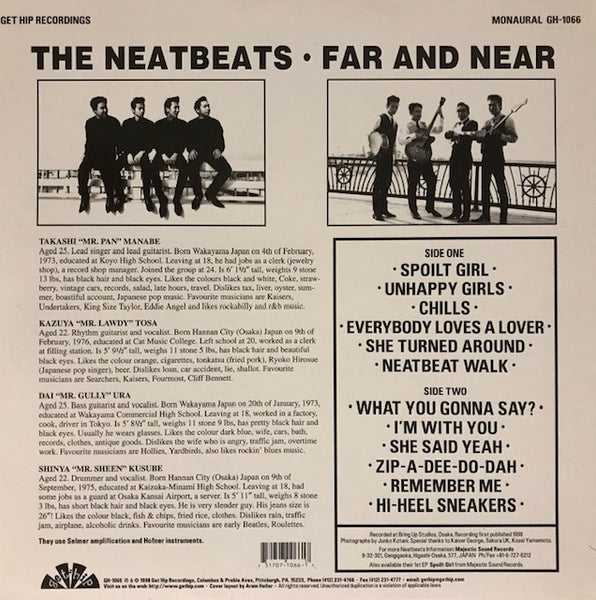 Neatbeats – Far and Near – New LP