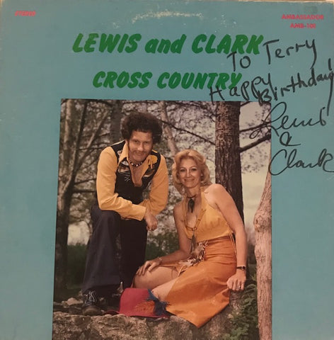 Lewis and Clark - Cross Country - Used LP