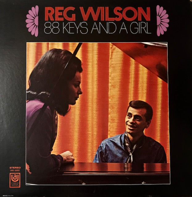 Wilson, Reg - 88 Keys and a Girl - Used