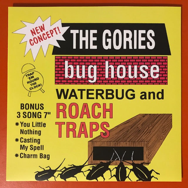 Gories, The  - Bug House – New 7""
