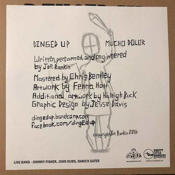 Dinged Up – Mucho Dolor – New LP