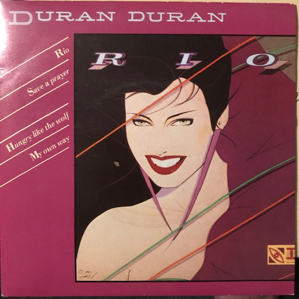 Duran Duran ‎– Rio / Save A Prayer / Hungry Like The Wolf / My Own Way – Used 7""