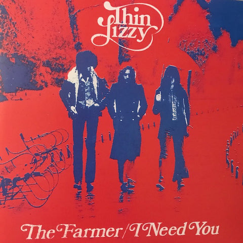 "Thin Lizzy- ""The Farmer"" / ""I Need You"" - Used 7"""
