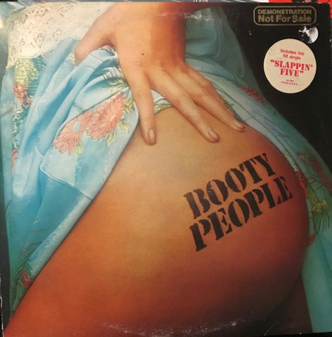 Booty People ‎– S/T - Used LP