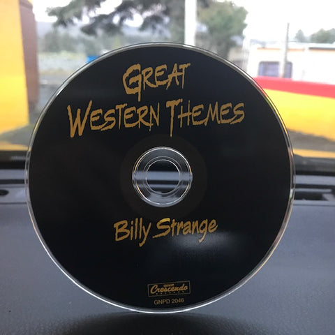 Strange, Billy – Great Western Themes – Used CD