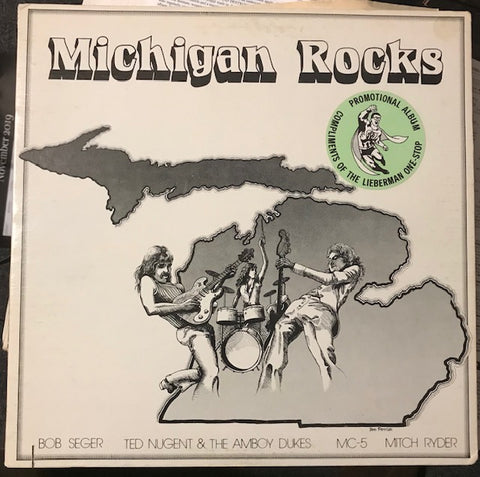 Various Artists – Michigan Rocks – Used LP