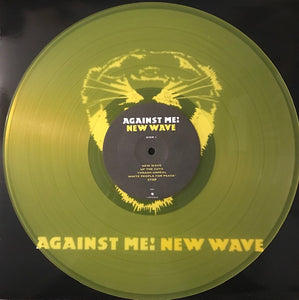 Against Me! ‎– New Wave [Yellow Vinyl) – Used LP