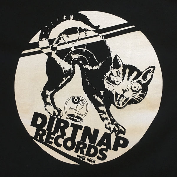 Dirtnap Records Cat T-Shirt
