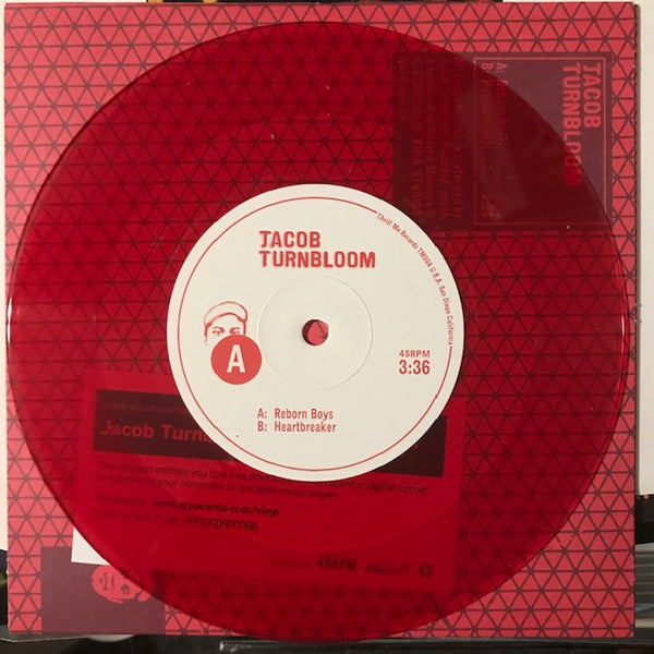 Jacob Turnbloom ‎– Reborn Boys [RED VINYL] - Used 7""
