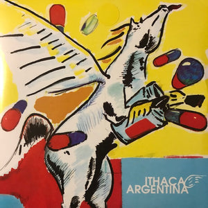 Argentina / Ithaca ‎– New Lung / Our Time As Invisible ‎[BLUE VINYL] - Used 7""