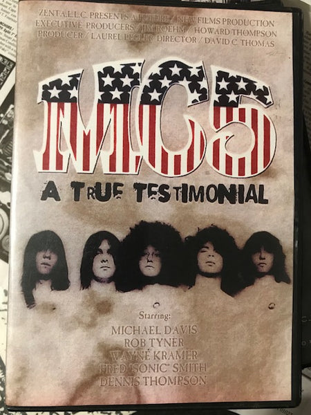 MC5 - A True Testimonial – Used DVD