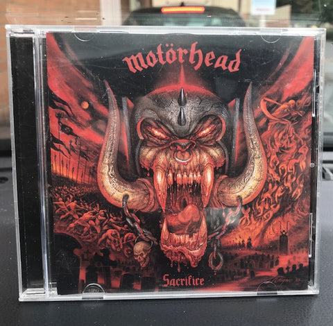Motorhead – Sacrifice – Used CD