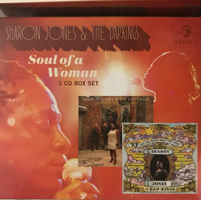Sharon Jones and the Dap Kings -  Soul of a Woman / Give The People What They Want / I Learned The Hard Way (3 CD Set) - New CD