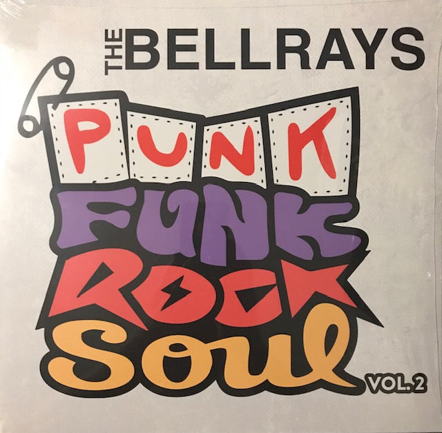 Bellrays, The - Punk, Funk, Rock, Soul Volume 2 [IMPORT COLOR VINYL]  - New LP