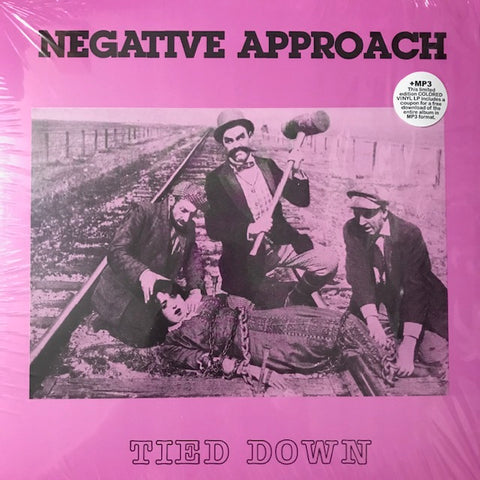 Negative Approach - Tied Down [Purple Vinyl] - New LP
