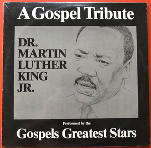 Various Artists – Dr. Martin Luther King Jr. A Gospel Tribute 2xLPs – Used LP