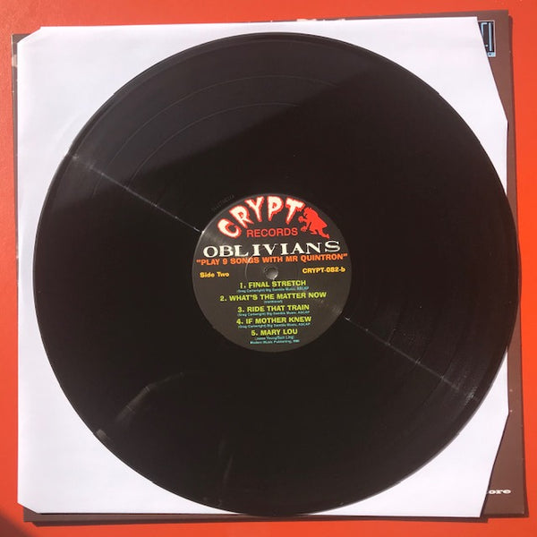 Oblivians - Play 9 Songs With Mr Quintron [IMPORT] - New LP