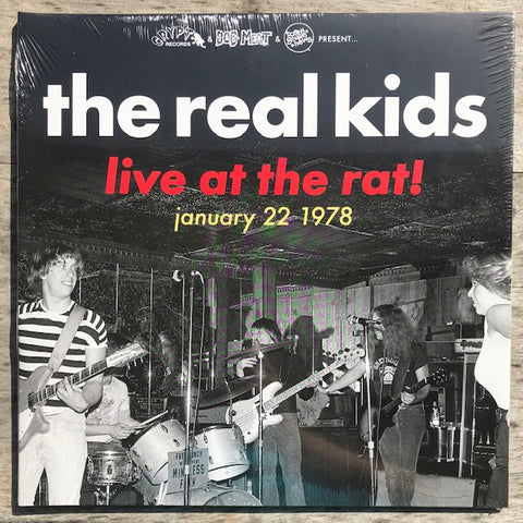 Real Kids, The - Live At The Rat, January 22, 1978 - New LP