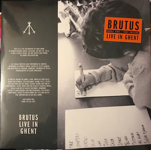 Brutus - Live in Ghent [2 xLP] – New LP