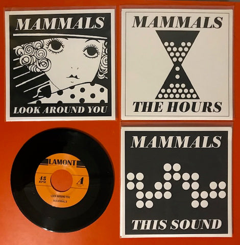 Mammals –  SET OF ALL THREE SINGLES – New 7""