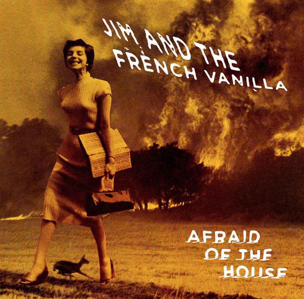 Jim And The French Vanilla - Afraid Of The House ORANGE VINYL LP
