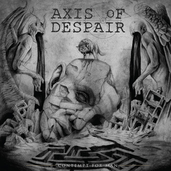 Axis of Despair - Contempt for Man - LP