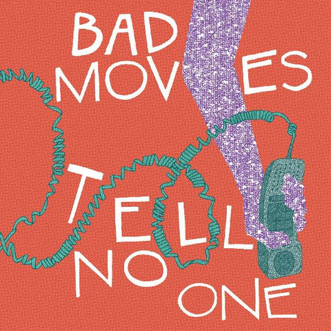 Bad Moves - Tell No One - LP