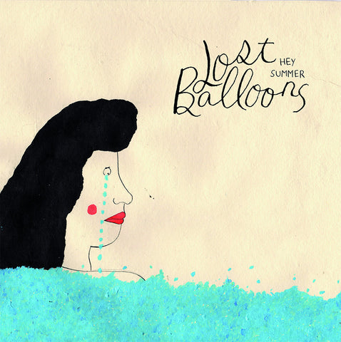 Lost Balloons - Hey Summer BLACK VINYL LP