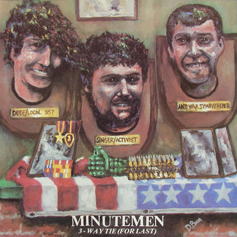 Minutemen - 3-Way Tie (For Last) - Used LP