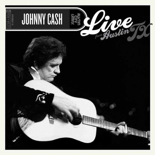 Cash, Johnny - Live From Austin, Texas - New LP