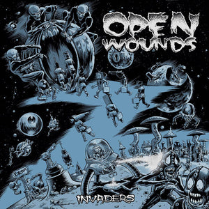 Open Wounds - Invaders - New LP